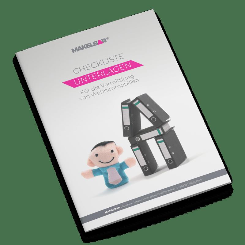 Checkliste Unterlagen für den Immobilienverkauf