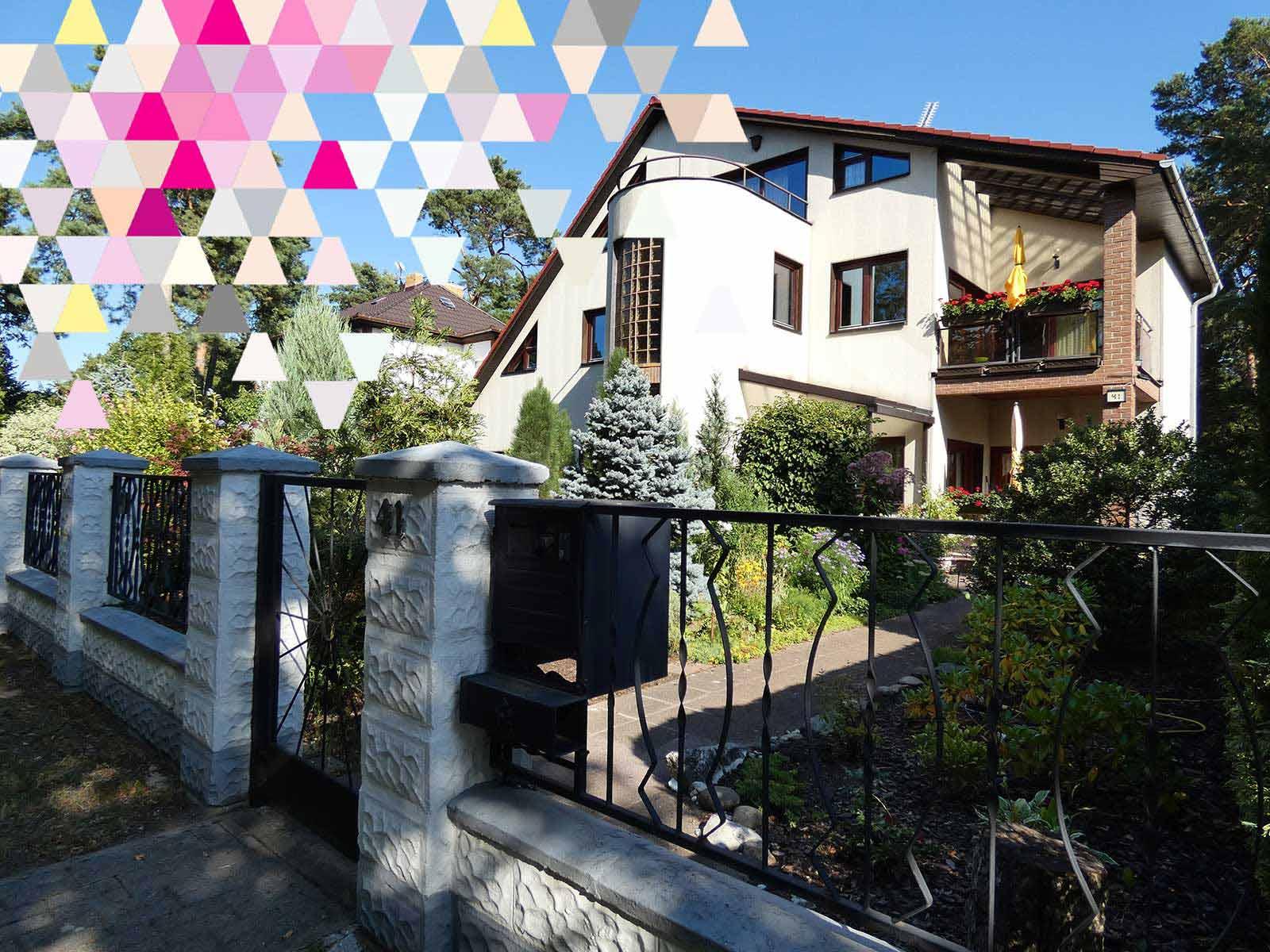 Referenz: Zweifamilienhaus in Brandenburg Hoppegarten OT. Waldesruh