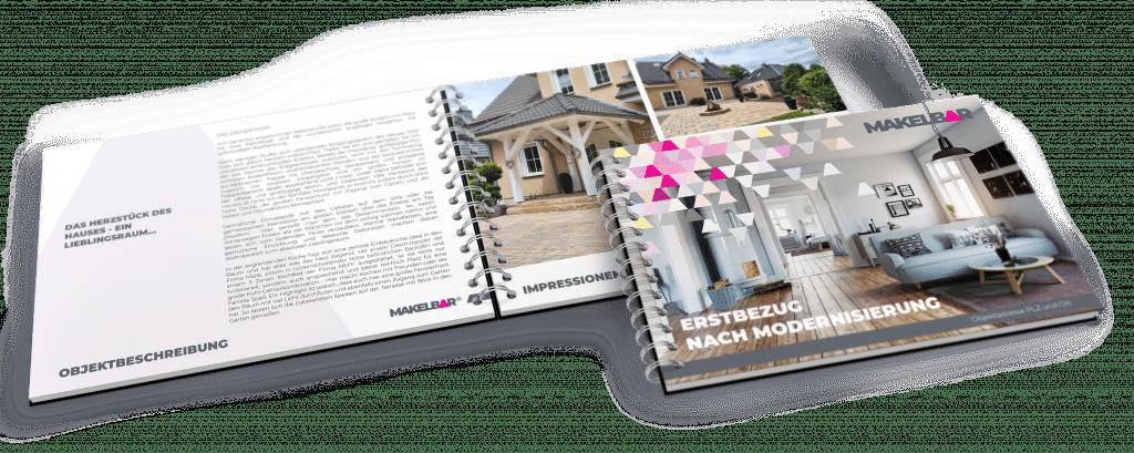 Makelbar - Unser Exposé für Ihre Immobilie
