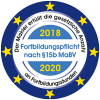 Wir haben unsere Fortbildungspflicht erfüllt 2018-2020