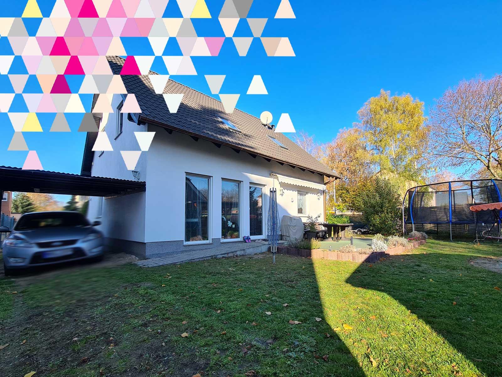 Einfamilienhaus | Verkauft zur Eigennutzung | 4 Zimmer | ca. 108 m² Wohnfläche | ca. 500 m² Grundstücksfläche | Brandenburg-Fredersdorf-Vogelsdorf