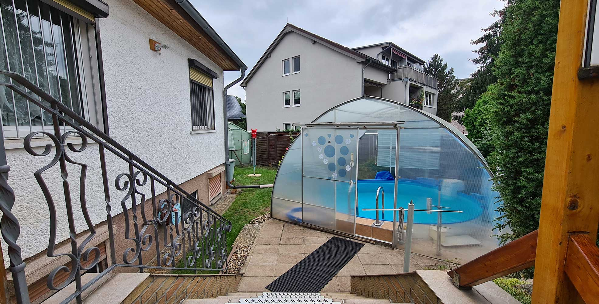 Einfamilienhaus in Berlin - Kaulsdorf - Pool